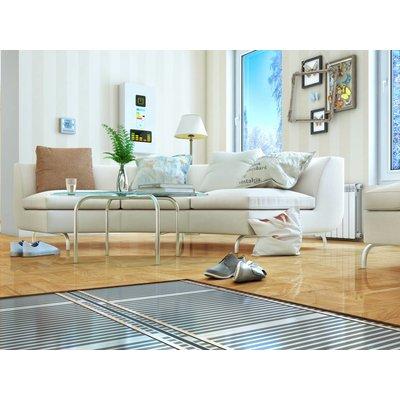 Elektrische vloerverwarming voor zwevende vloeren