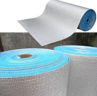 Ondervloeren en installatiematerialen voor elektrische vloerverwarming voor onder zwevende vloeren