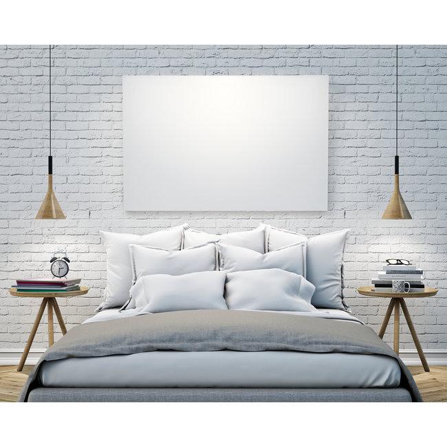 VH Wit Glas Infraroodpaneel serie G 60 x 60 cm - 320 watt