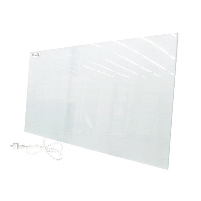 VH Wit Glas Infrarood paneel Serie G -  60 x 120 cm - 700 watt