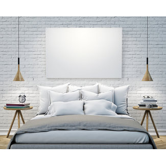 VH Wit Glas Infrarood paneel serie G 60 x 120 cm - 700 watt