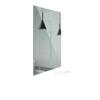 Infrarood paneel als Spiegel voor design en verwarming