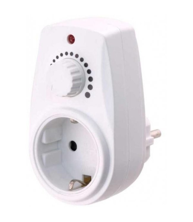 2Heat Plug-in Dimmer tot 280 Watt voor warme voeten matten