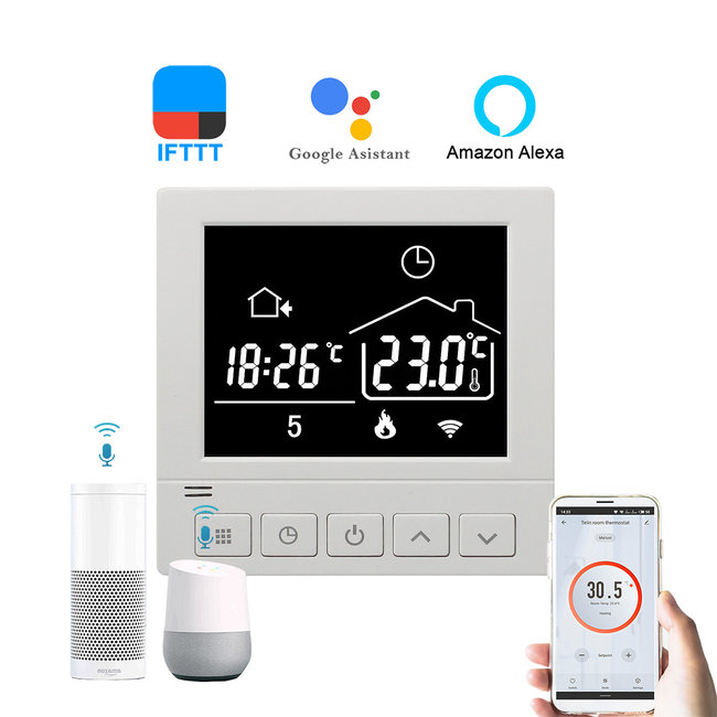 "VH Control ""Chronos"" Digitale Wifi thermostaat"