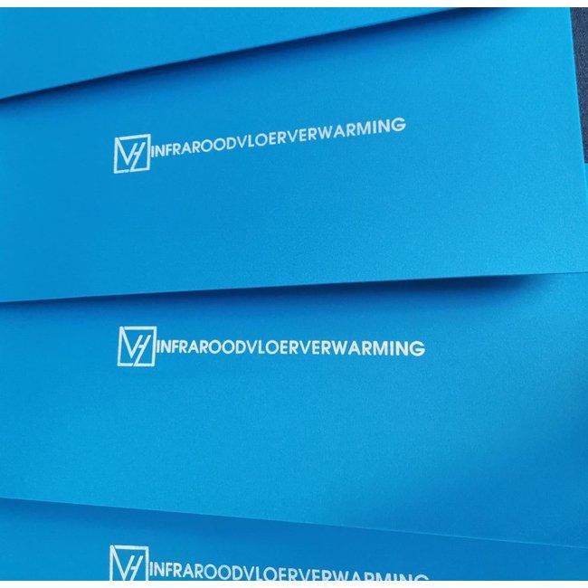 VH Ondervloer XPE6 - Platen met 6 mm dikte - Geschikt voor infrarood verwarming - 7,2 m²