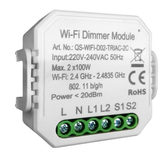 VH Control WiFi Smart Led Dimmer Dubbel tot 2 x 100 watt