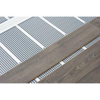 VH Infrarood Vloerverwarming op maat - 130 Watt/m2  - 100 cm breed