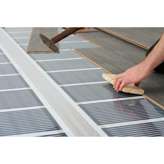 VH Infrarood Vloerverwarming Folie Compleet - 130 Watt/m²  - 50 cm breed