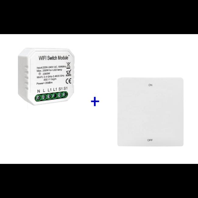 VH Control Smart Home combi - Enkele schakelaar met RF bediening