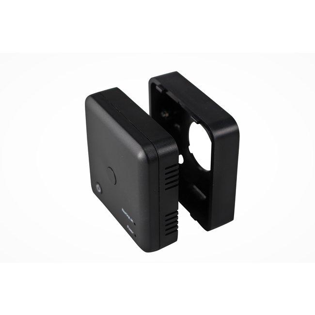 VH Control Opbouwrand voor ontvanger Echo & Otus thermostaat - Zwart