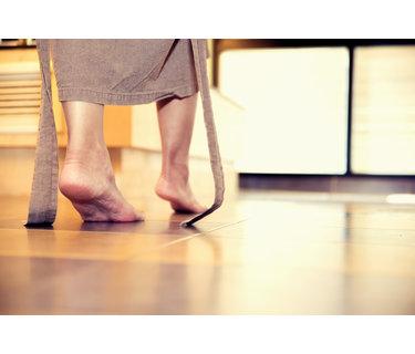 Elektrische vloerverwarming voor onder vaste vloeren