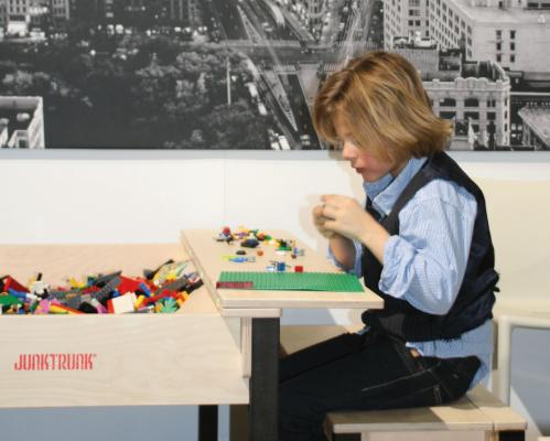 Houten design kindermeubels - hip kindermeubilair om te spelen banner 1