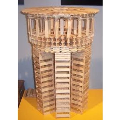 Kapla kist 280  stuks stapelplankjes