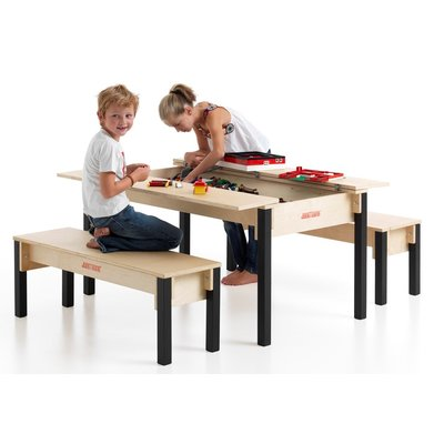 Speeltafel met opbergruimte