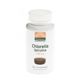 Mattisson Chlorella Spirulina 250-170 mg