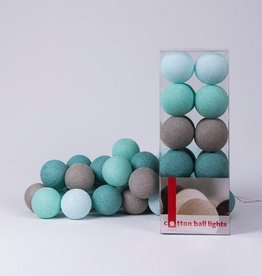 Cotton Ball Lights - Mint