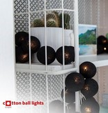 Cotton Ball Lights - Black