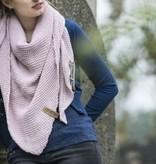 Coco omslagdoek - roze - Knit Factory
