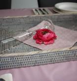 Servetten - set van 4  - Romantisch roze