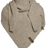 Coco omslagdoek - olive - Knit Factory