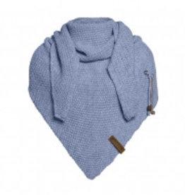 Coco omslagdoek - indigo - Knit Factory
