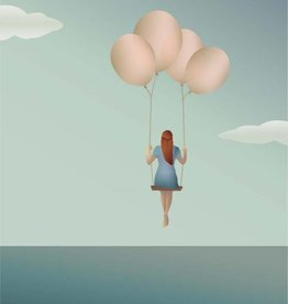 Poster Balloon Dream -3 maten - Vissevasse
