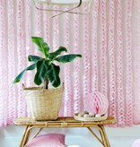 Pink  honeycomb ball set