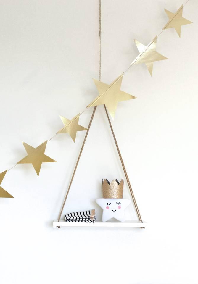 Gouden sterrenslinger
