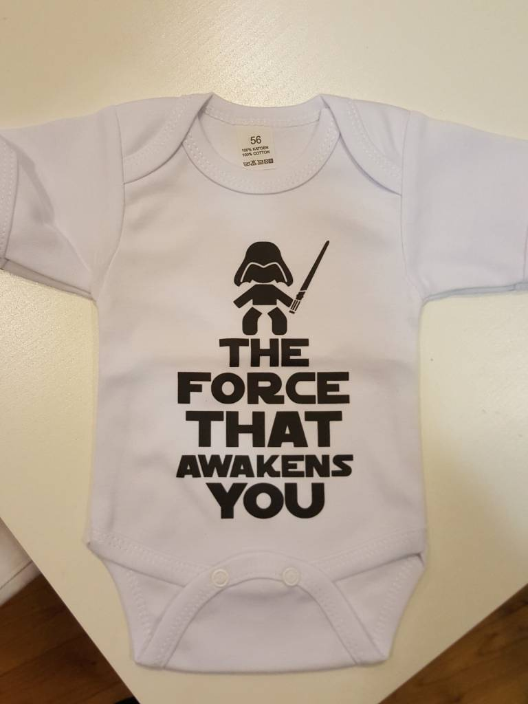 Rompertje 'The Force that awakens you''