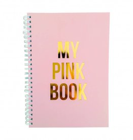 "Notitieboek ""My pink book"" - Studio stationery"