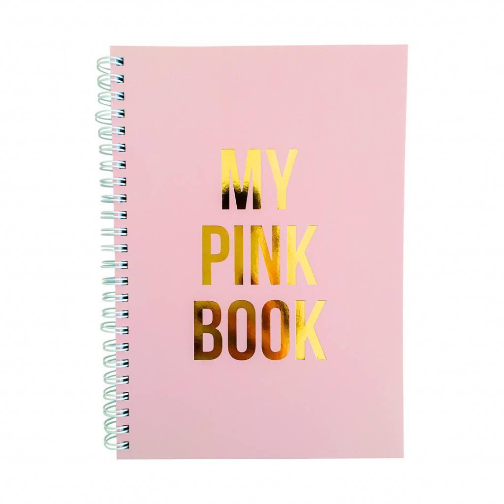 "Notitieboek ""My pink book"" - Studio stationery"