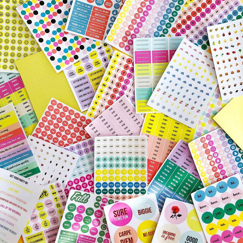 Stick it stickerboek - Studio Stationery