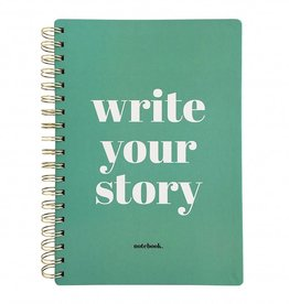 "Notitieboek ""Write your story"" - Studio stationery"