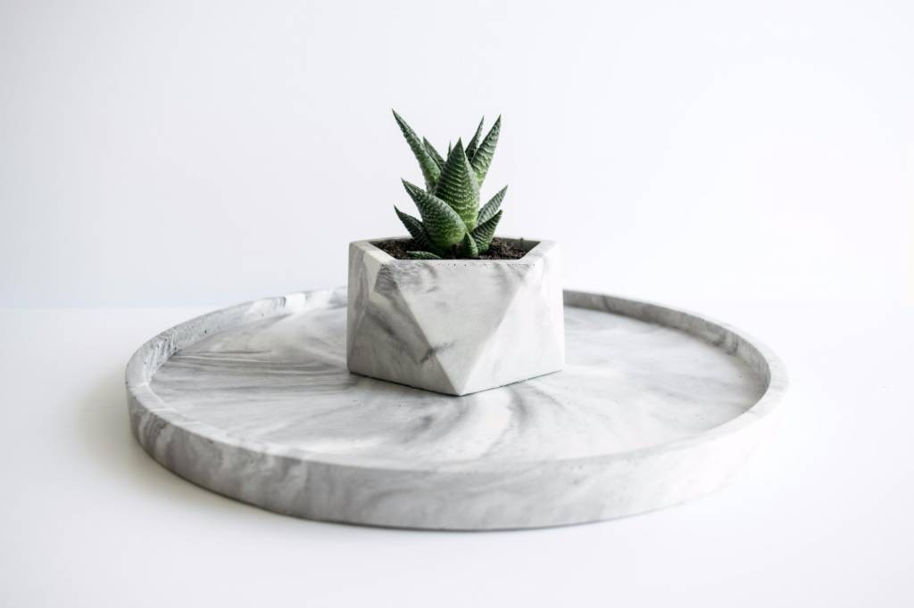 Vassoio White marble - House Raccoon