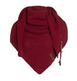 Coco omslagdoek - bordeaux - Knit Factory