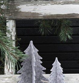 Kerstboompjes Vilt - set van 2