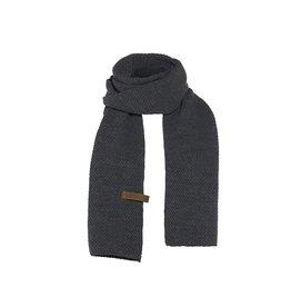 Jazz sjaal - Antraciet - Knit Factory
