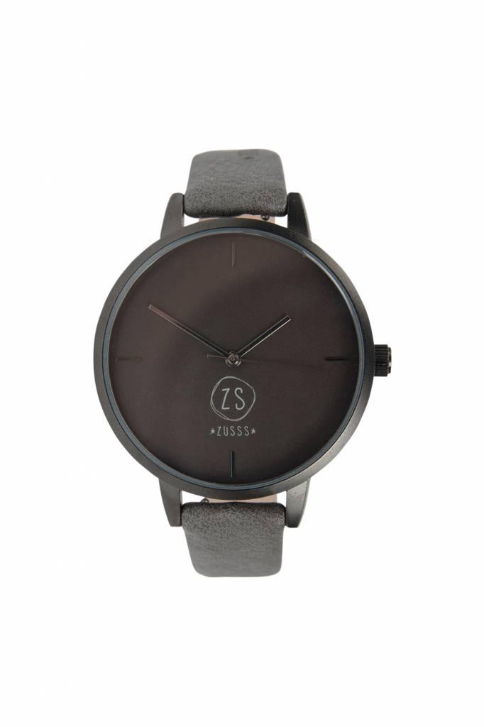 Hip horloge - antracietgrijs - Zusss