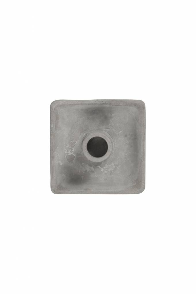 Kaarsenhouder beton - vierkant - Zusss