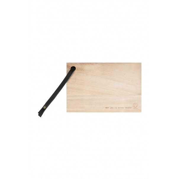 Broodplank hout - 30 cm - Zusss