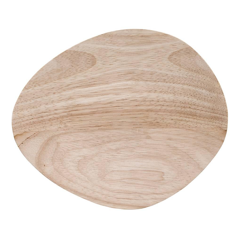 Bordje - rubberhout - Bloomingville
