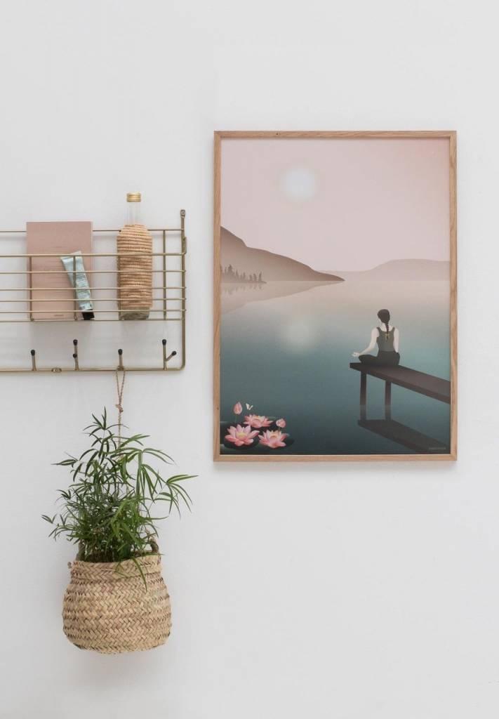 Poster Lotus - 2 maten - Vissevasse