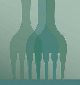 Poster Wining & Dining -3 maten - Vissevasse