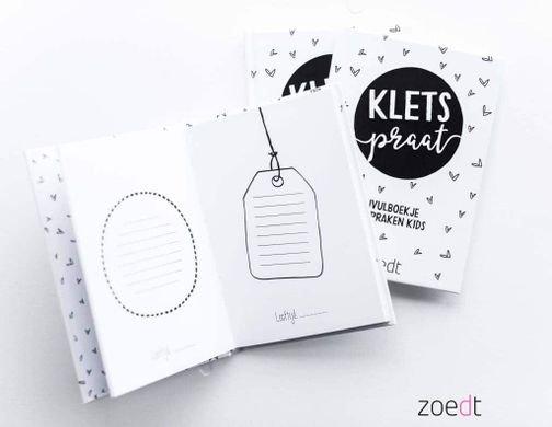 """Invulboekje """"Kletspraat"""" - Zoedt"""