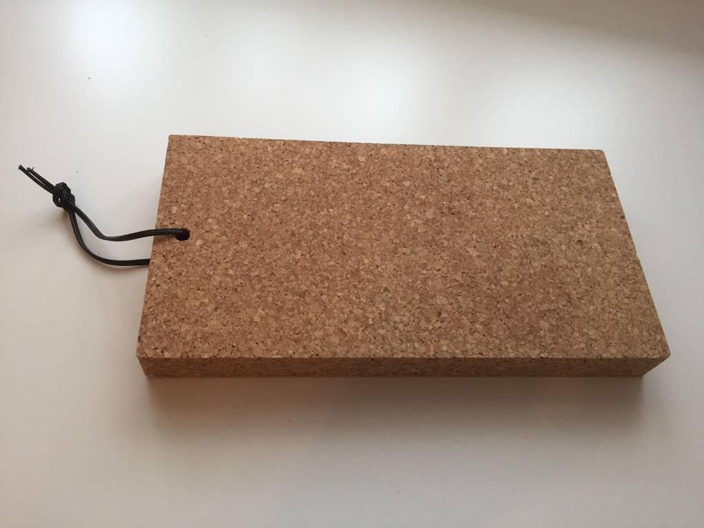 Serveerplank kurk - rechthoekig - 3D Cork