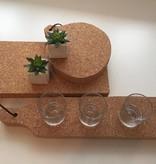 Serveerplank kurk -rond - 3D Cork