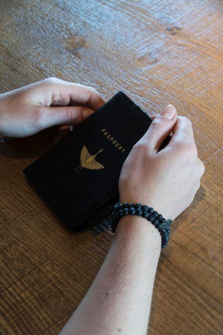 Paspoorthoesje Kraanvogel Zusss
