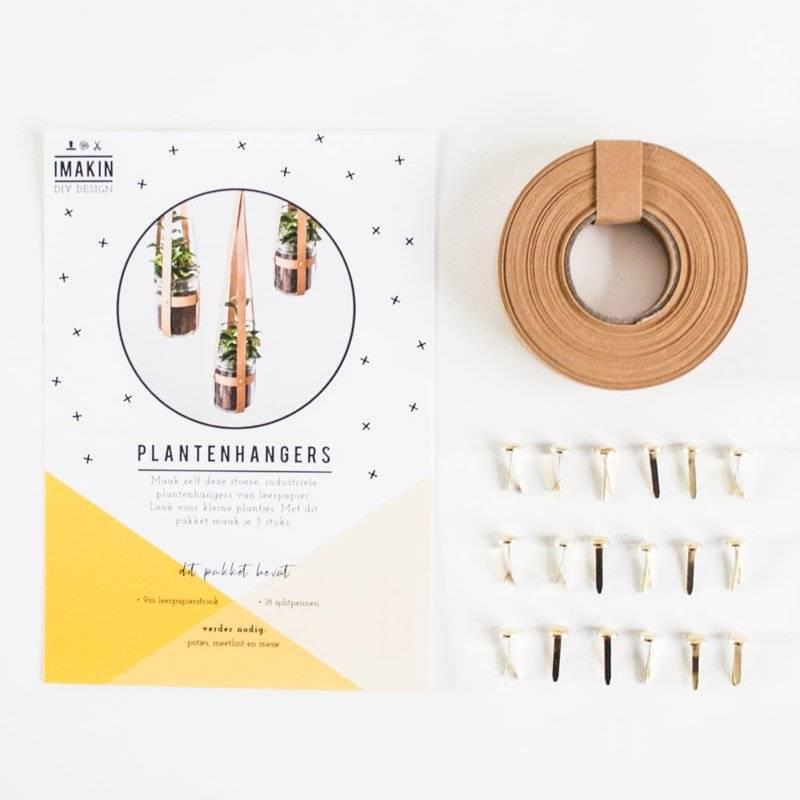 Mini DIY pakket  stoere plantenhangers