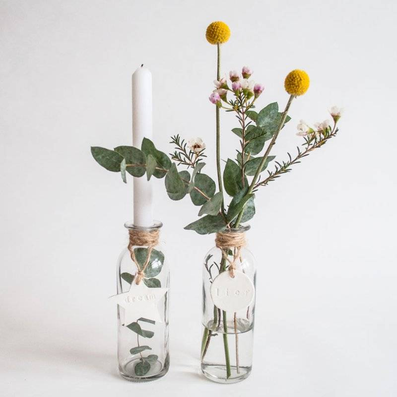 DIY pakket kaarsenvaasjes