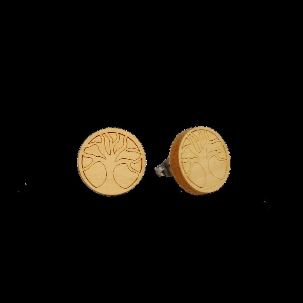 """Oorsteker """"Levensboom"""" - Eydl wood"""